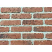 5D20-2 Custom Artificial Thin Veneer Brick Thickness 12mm With Turned Color Manufactures