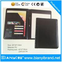 Buy cheap Fashion file folder, presentation folder with company logo embossed or prinitng from wholesalers