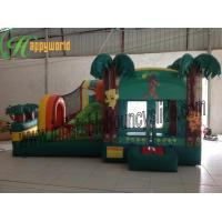 Buy cheap Rent Kids Coconut Tree Castle Inflatable Bouncy Slide For Garden Bouncy Castle from wholesalers