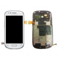 Buy cheap SAMSUNG Galaxy S3 Mini i8190 Complete SuperAmoled Screen with Digitizer from wholesalers