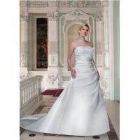 Plus Size Strapless Wedding Dress Manufactures