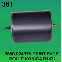 Wholesale 3550-02437A / 3550 02437A / 355002437A PRINT FACE ROLLER FOR KONICA R1,R2 minilab from china suppliers
