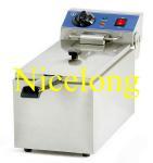 Buy cheap 6L single tank electric potato fryer EF-061 from wholesalers