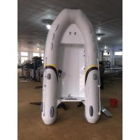 Buy cheap 2017 Durable 300cm Aluminum Work Boats , Aluminum Hull Inflatable double bottom product