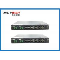 Buy cheap 1U 19 Inch 8 Port GPON OLT Support Dual Power Supply With SNMP / WEB Management from wholesalers