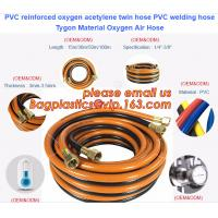 Buy cheap PVC reinforced oxygen acetylene twin hose PVC welding hose Tygon Material Oxygen Air Hose from wholesalers