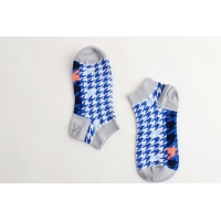 Buy cheap Color Stripes Sweat - Absorbent Sports Ankle Socks With Nylon / Spandex / Cotton from wholesalers