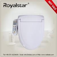 Buy cheap Hygienic Intelligent Toilet Seat Cover 110V - 220V Voltage Hot Water Washing from wholesalers