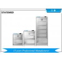 Buy cheap 2℃ - 8℃ Mini Pharmaceutical Grade Refrigerator 60l Capacity With Glass Door from wholesalers