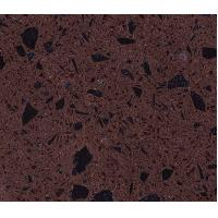 Buy cheap Dark Crystal Purple Polished artificial quartz stone countertops / slab / tiles from wholesalers