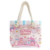 Buy cheap Shoulder PVC Tote Bag , Transparent Tote Bag Handmade By Heat - Sealed Welding from wholesalers