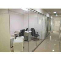 Buy cheap Double Glazed Demountable Glass Partitions Concealed Edge  Dry Clear Pvc Joint from wholesalers