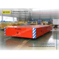 Buy cheap Cement Floor Battery Transfer Cart Industrial Trackless Handling For Foundry Plant from wholesalers