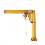 Buy cheap Flexible Rotation Workshop 1000kg 1ton Slewing Jib Crane from wholesalers