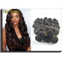 Buy cheap Body Wave Virgin Human Hair Extensions For Black Girls Can Ben Restyled from wholesalers