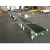 Buy cheap Motorized Movable PVC Aluminum Frame Belt Conveyor from wholesalers