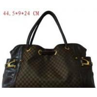 Buy cheap Jacquard Handbag with PU Trimming from wholesalers