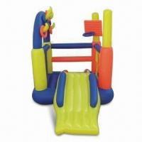 Wholesale Inflatable Jumping Castle, Measures 60 x 60 Inches, Made of PVC from china suppliers