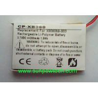 Wholesale Microsoft Xbox 360 Wireless Headset battery X808059-003 from china suppliers