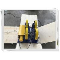 CE / ISO PU Coated Bolt Adjustable Light Duty 1000kg Pipe Rotators For Welding Manufactures