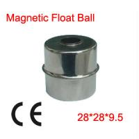 Buy cheap 100x 28X28X9.5mm Liquid Level Measurements Magnetic Stainless Steel Float Ball from wholesalers