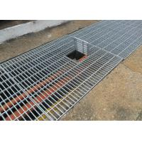 Buy cheap Galvanized Walkway Grating Serrated Bearing Bar Corrosion Resistance product