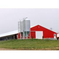 Buy cheap Pre Built Commercial Steel Structure Poultry House Chicken Rearing Structures from wholesalers