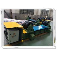 Hydraulic Driven Fit Up Rotator Tank Turning Rolls With PU Wheel Manufactures