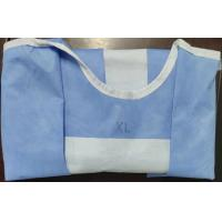 Buy cheap AAMI Level 4 Soft Disposable Hospital Gowns Liquid Resistant Anti - Bacteria from wholesalers