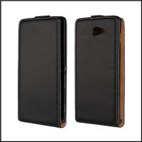 Buy cheap Factory price!!!!Genuine Leather Mobile Phone Case for Sony Xperia M2 (S50H) from wholesalers