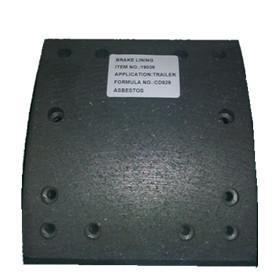 Wholesale high quality ceramic brake lining WVA19037, brake parts,brake liner,brake blocks from china suppliers
