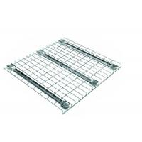 Buy cheap Corrosion Protection Galvanised Steel Mesh Panels Selective Pallet Rack Type from wholesalers