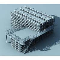 China Single Tier Or Multi - Tiered Warehouse Storage Mezzanine Floor System With Customized on sale