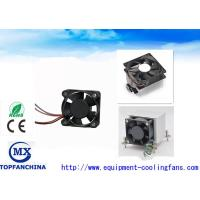 Computer Case Cpu Cooling Fan High Speed 12000rpm , DC Axial Motor Mini Size Manufactures