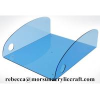 Buy cheap Colorful Acrylic Towel Tray, Plexiglass Towel Holder For Hotel Supplies Made In China from wholesalers