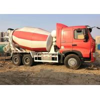 Buy cheap Big Horsepower Commercial Cement Mixer 6 X 4 Type Three Axle Eaton Motor from wholesalers