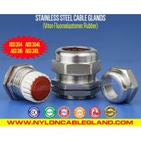 Buy cheap Rating IP68 Stainless Steel Cable Gland AISI 304/316/316L with (FKM / FPM) Viton Seals from wholesalers