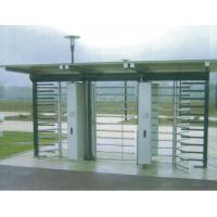 RFID Cards Access Remote Control Full Height Turnstile for Exhibition Hall Doors Manufactures