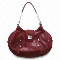 Buy cheap PVC Handbag, Made of Oil Leather from wholesalers