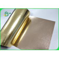 Buy cheap Fibrous Materials Washable Paper One Side Golden Color Surface Reflective from wholesalers