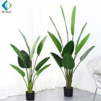 Wholesale Palm Banana Artificial Bonsai Plants 5-10 Years Life Time Customized Design from china suppliers