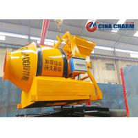 Buy cheap Drum Type Concrete Mixer , Small Portable Cement Mixer 350L Output Volume from wholesalers