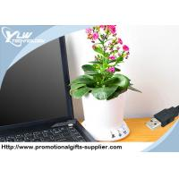 Buy cheap Novelty desktop Cool USB Gadget flowerpot planting memory recorded by PC from wholesalers