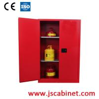 Buy cheap 45 Gallon red chemical storage cabinet from wholesalers