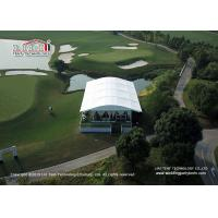 Buy cheap Liri high-end Arcum Tent with glass wall used for outdoor golf events from wholesalers