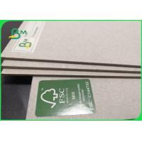 Buy cheap 1.5mm 2mm 3mm Rigid Laminated Grey Straw Board For Book Binding 28 X 32 Inch from wholesalers