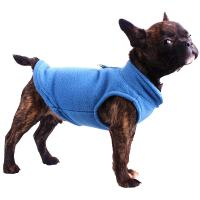 China Winter Fleece Pet Clothes for Dogs Puppy Clothing French Bulldog Coat Pug Costumes Jacket For Small Dogs on sale