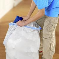 Buy cheap 13 Gallon Tall Kitchen Garbage Bags With Lavender Sweet Vanilla Smell from wholesalers