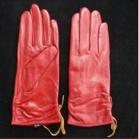 Buy cheap Leather Womens Waterproof Gloves , Sheepskin Womens Leather Dress Gloves from wholesalers