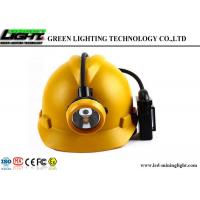 Buy cheap 6.6Ah Battery Cordless Miners Cap Lamp 3.7V Strong Brightness With USB Charger from wholesalers